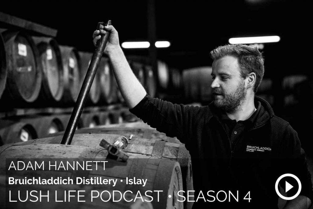 Adam Hannett, Bruichladdich Distillery, Islay