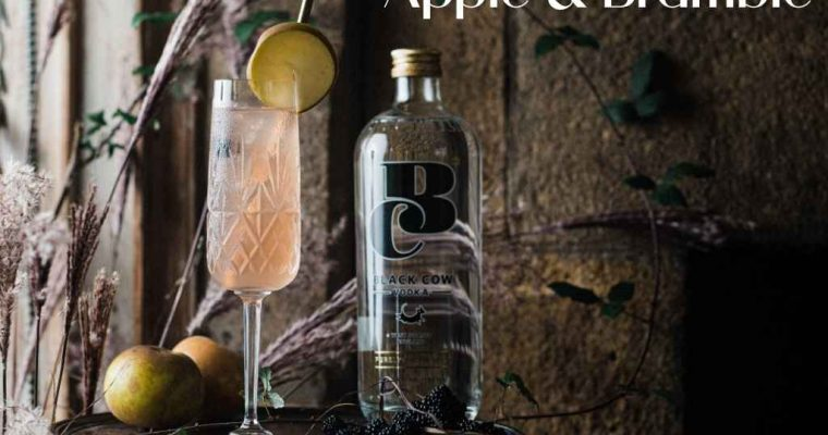 How to Make the Black Cow Vodka Apple and Bramble