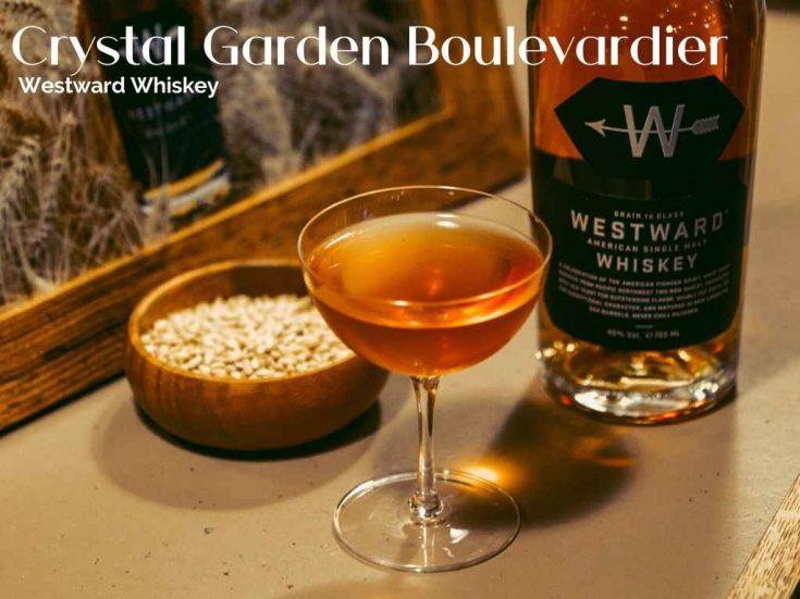 Crystal Garden Boulevardier by Will Meredith, Lyaness, Westward Whiskey