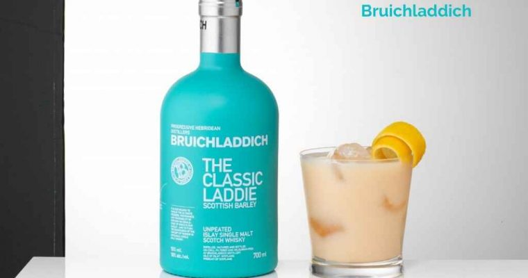 Laddie Sour Cocktail Recipe by Bruichladdich