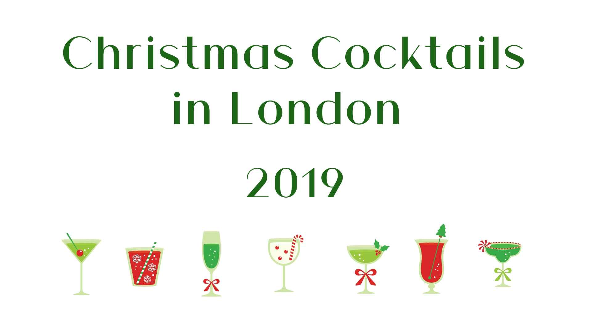SITE - Christmas Cocktails in London 2019