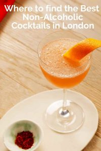 Where to find the Best Non-Alcoholic Cocktails in London - Pinterest