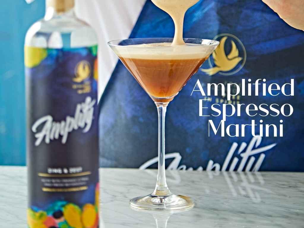 Amplified Espresso Martini – Non-Alcoholic Cocktail Recipe