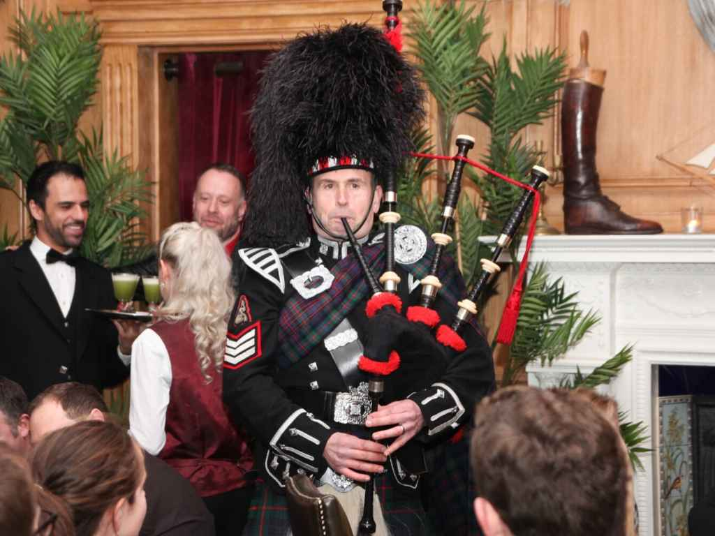 Celebrating Burns Night in London