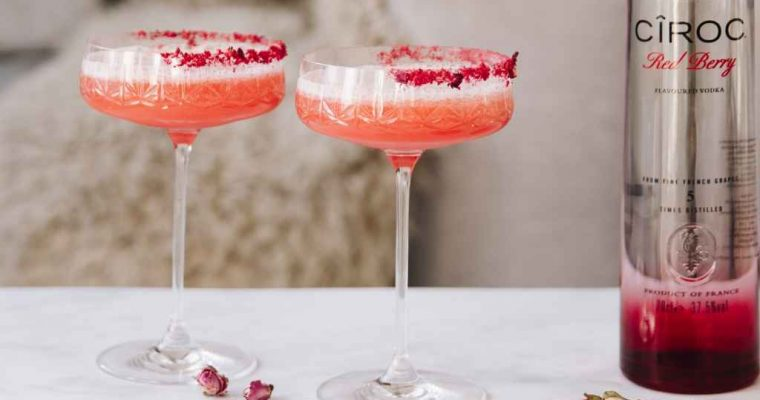 CÎROC Crush – Valentine's Day Cocktail Recipe