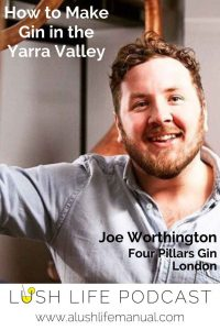 Joe Worthington, Four Pillars Gin, London - Pinterest