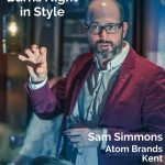 Sam Simmons, Atom Brands, Kent - Pinterest