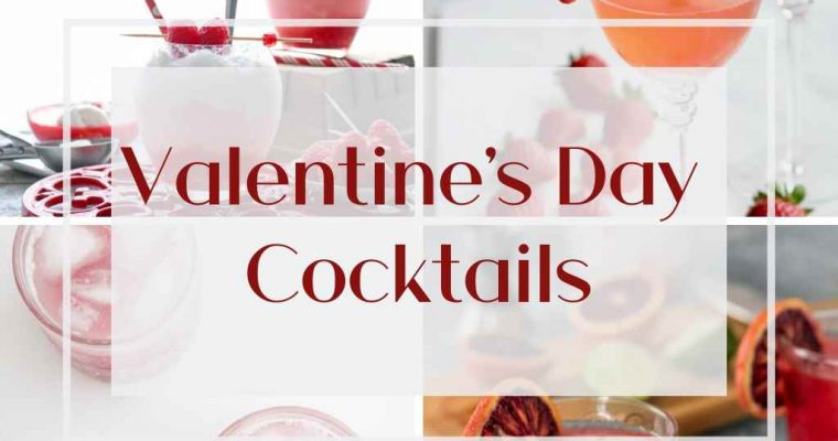 How to Make Gorgeous Valentine's Day Cocktail
