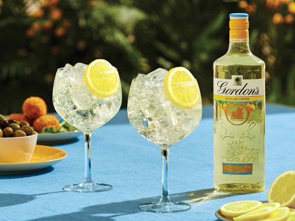 Gordon's Sicilian Lemon Gin!