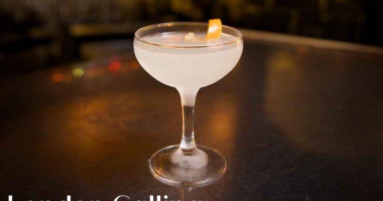 London Calling, Milk & Honey – Cocktail Recipe
