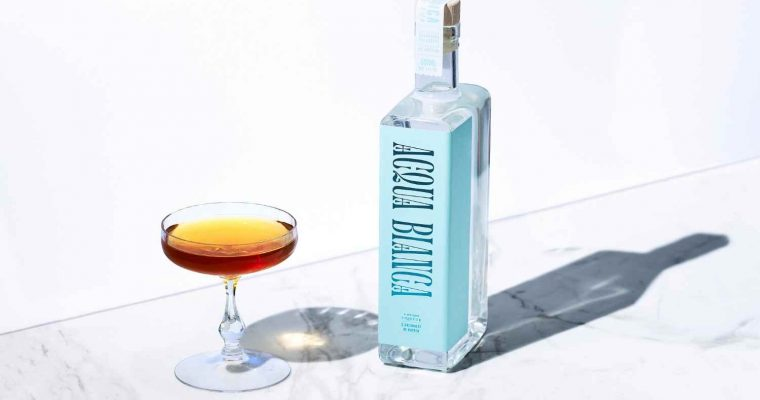 Sal's Stinger with Acqua Bianca – Cocktail Recipe