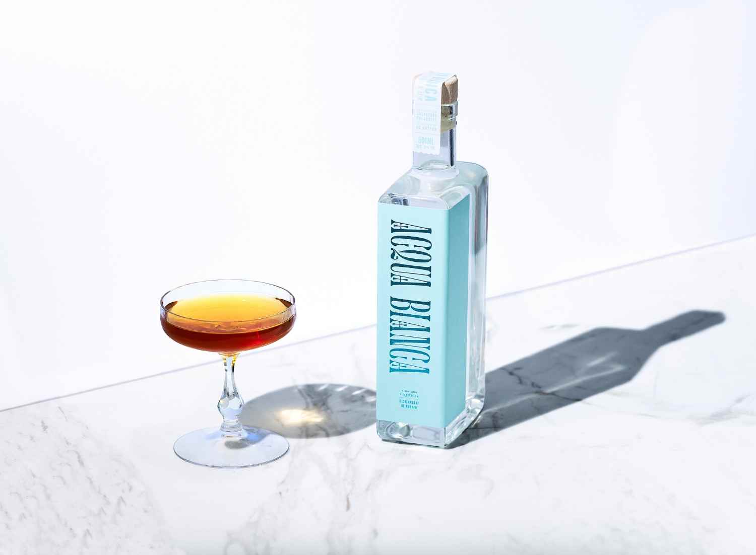 How to Make the Sal's Stinger with Acqua Bianca – Cocktail Recipe