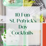 St. Patrick's Day Cocktails - Pinterest