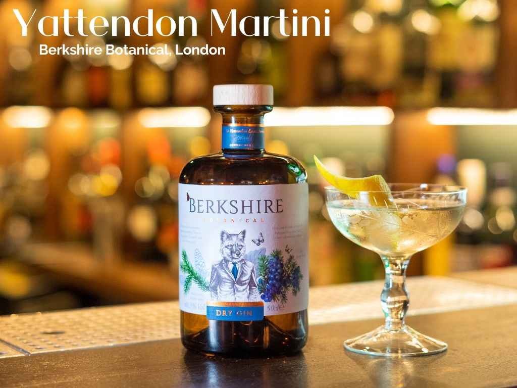 How to Make Berkshire Botanical's Yattendon Martini – Cocktail Recipe