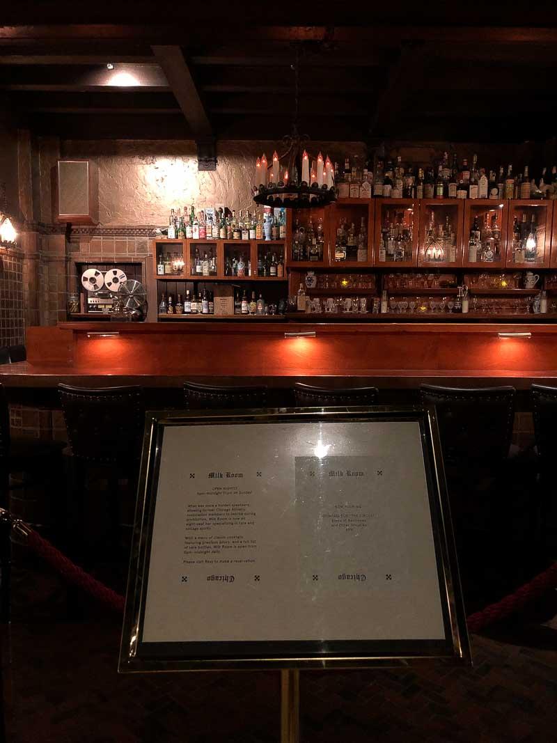 Best Bars of Chicago - The Milk Room