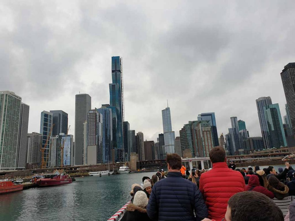 Boat tour of Architecture