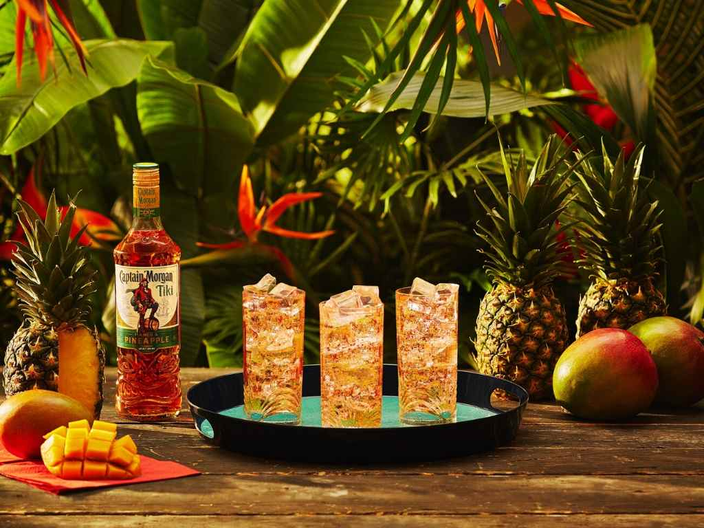 Captain Morgan Has a New Rum Based Spirit – Tiki