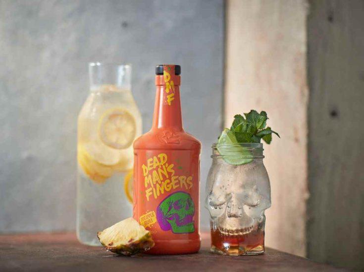 Dead Man's FInger's Pineapple Rum - Tropical Lemonade
