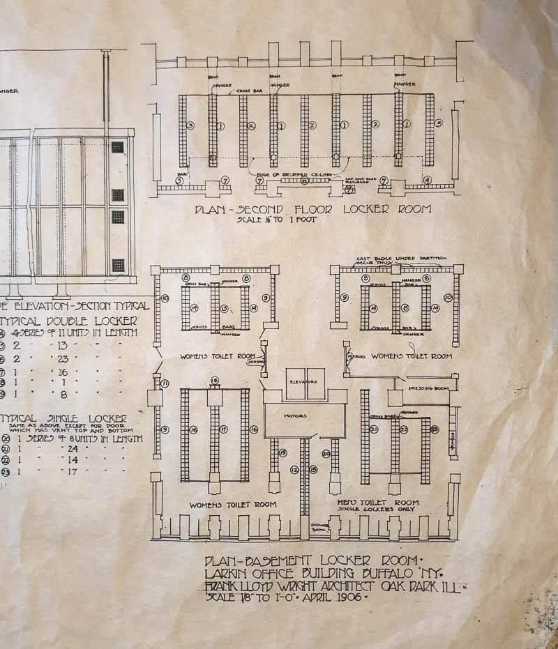 Frank Lloyd Wright plans
