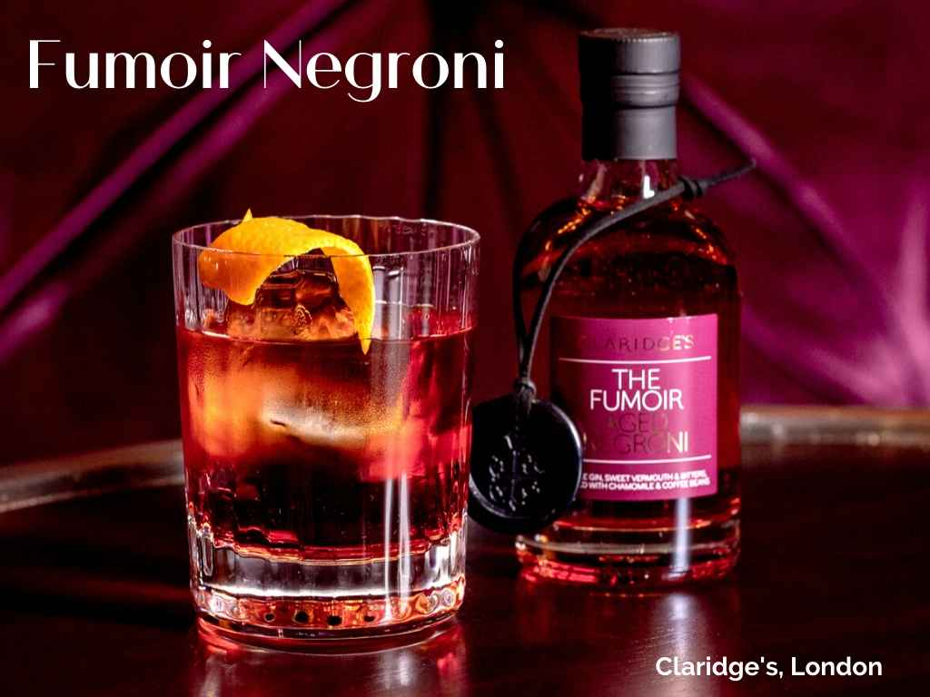 Fumoir Negroni at Claridge's Hotel, London