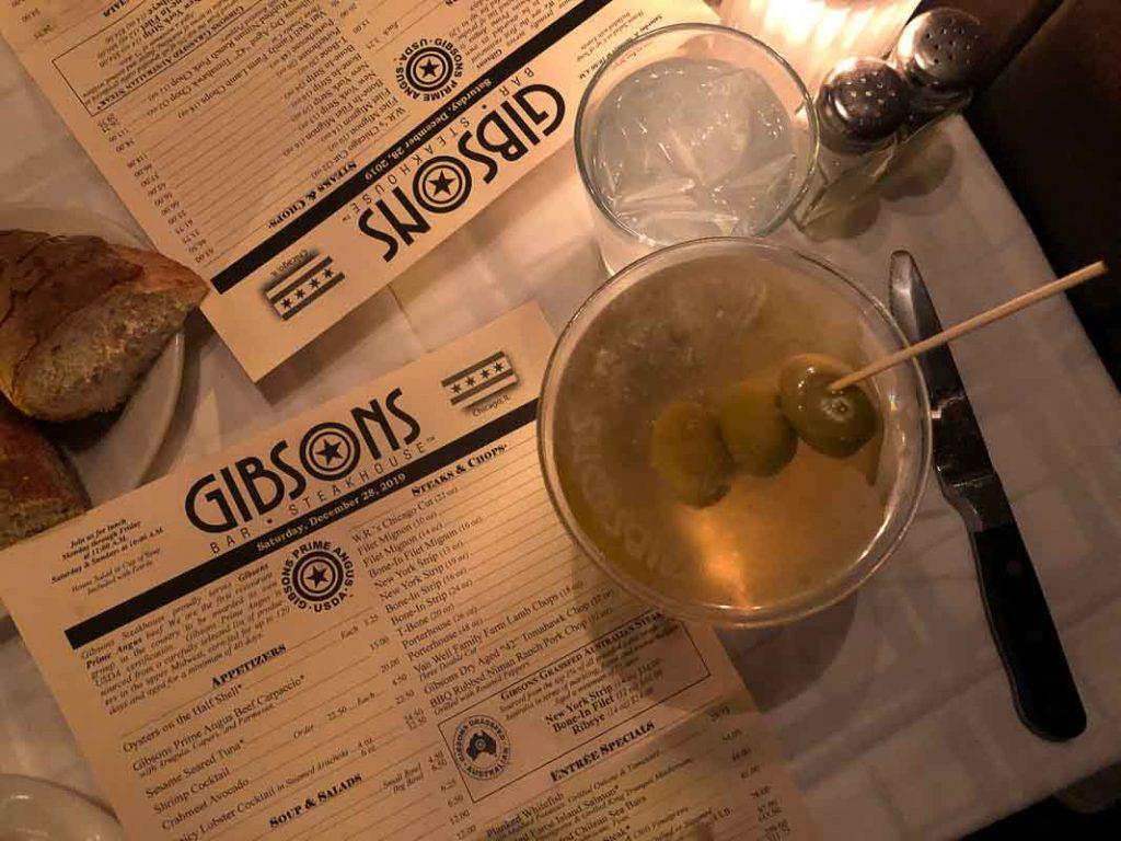 Gibson's Restaurant, Chicago