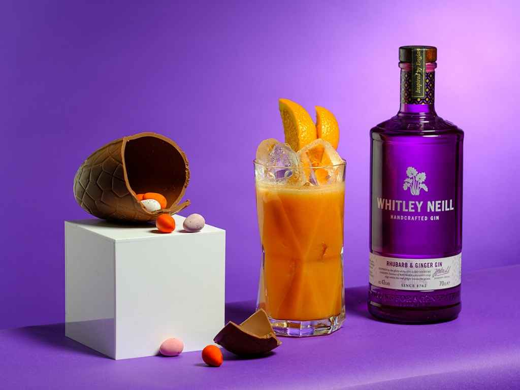 How to Make the Whitley Neill Rhubarb & Ginger Gin Bunny Ears