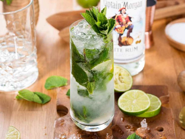 How To Make The Captain Morgan Mojito A Lush Life Manual