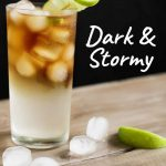 Dark and Stormy - Pinterest Recipe