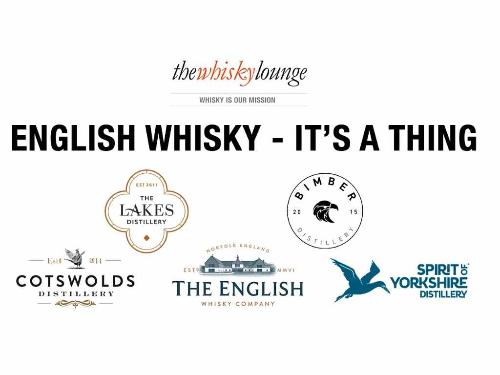The Whisky Lounge announce a unique virtual tasting, uniting the English Whisky industry, with donations going to The Drinks Trust