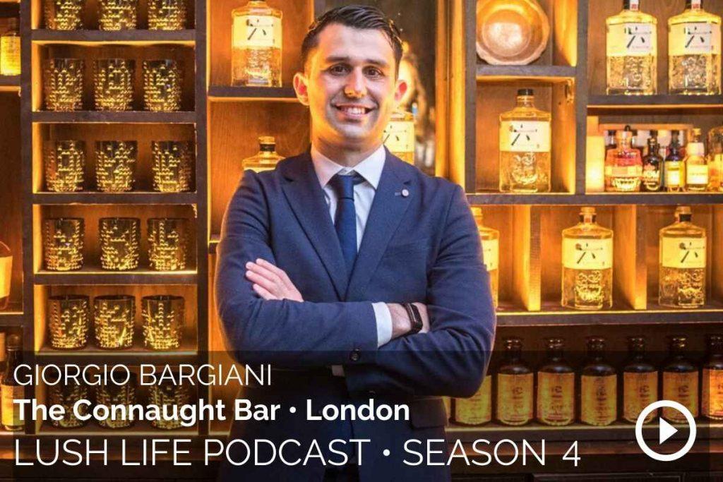 Giorgio Bargiani, The Connaught Bar, London