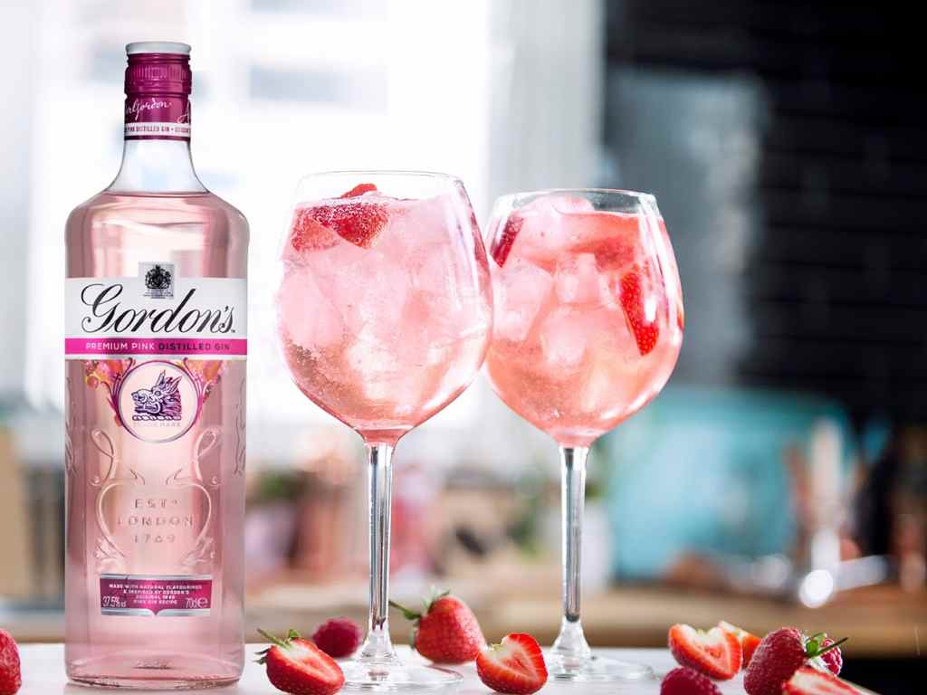 How to Make the Gordon's Pink Gin Spritz