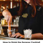 How to Drink the Sazerac Pin