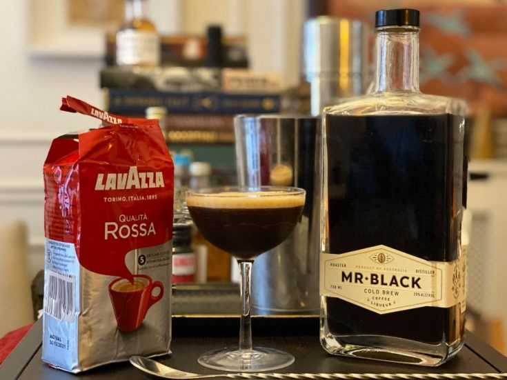 Mr. Black's Espresso Martini - Cocktail Recipe