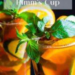 Pimm's Cup - Pinterest