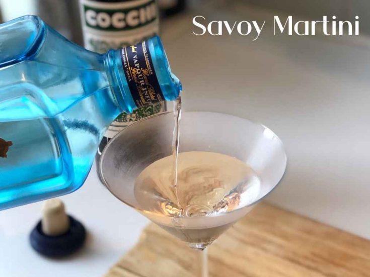 Savoy Martini, London