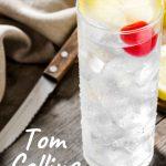 Tom Collins - Pinterest Recipe