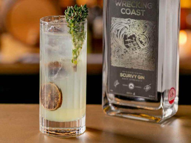 Cornish Highball - Cocktail Recipe