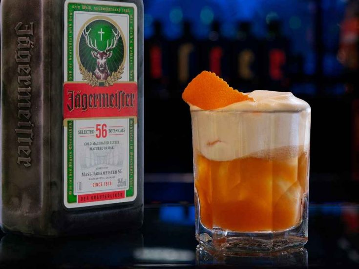 Jägermeister Sour - Cocktail Recipe