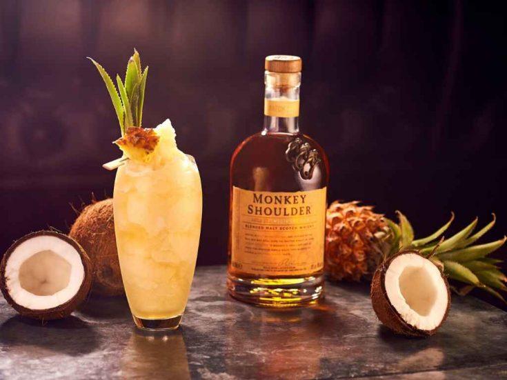 Monkey Shoulder Colada - Cocktail Recipe