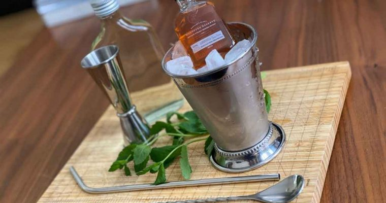 How to Make the Woodford Reserve Mint Julep
