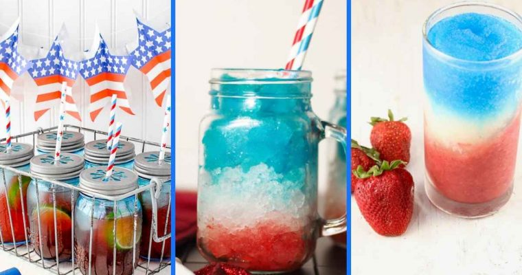 How to Make 15 Easy & Festive July 4th Cocktails