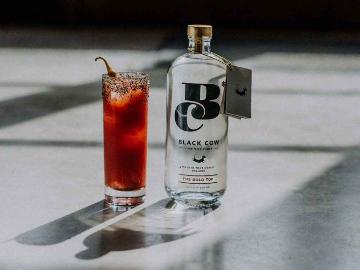 Black Cow Vodka Bloody Cow - Cocktail Recipe