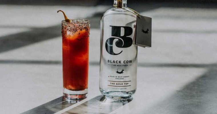 How to make Black Cow Vodka Bloody Mary