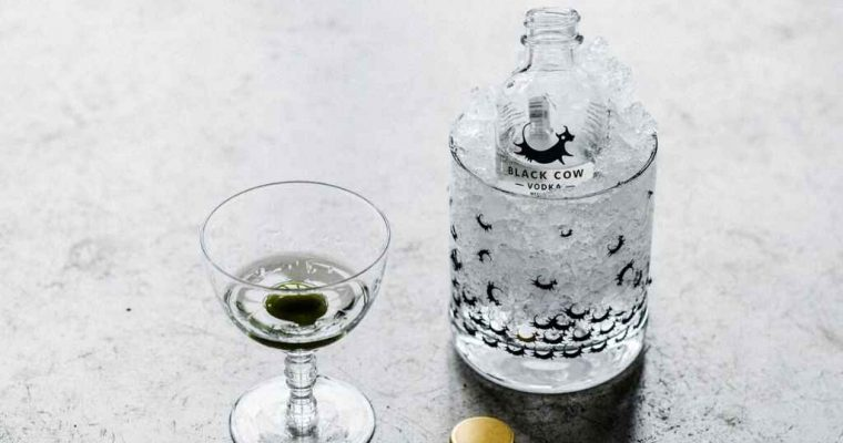 How to Make the Black Cow Vodka Dirty Martini