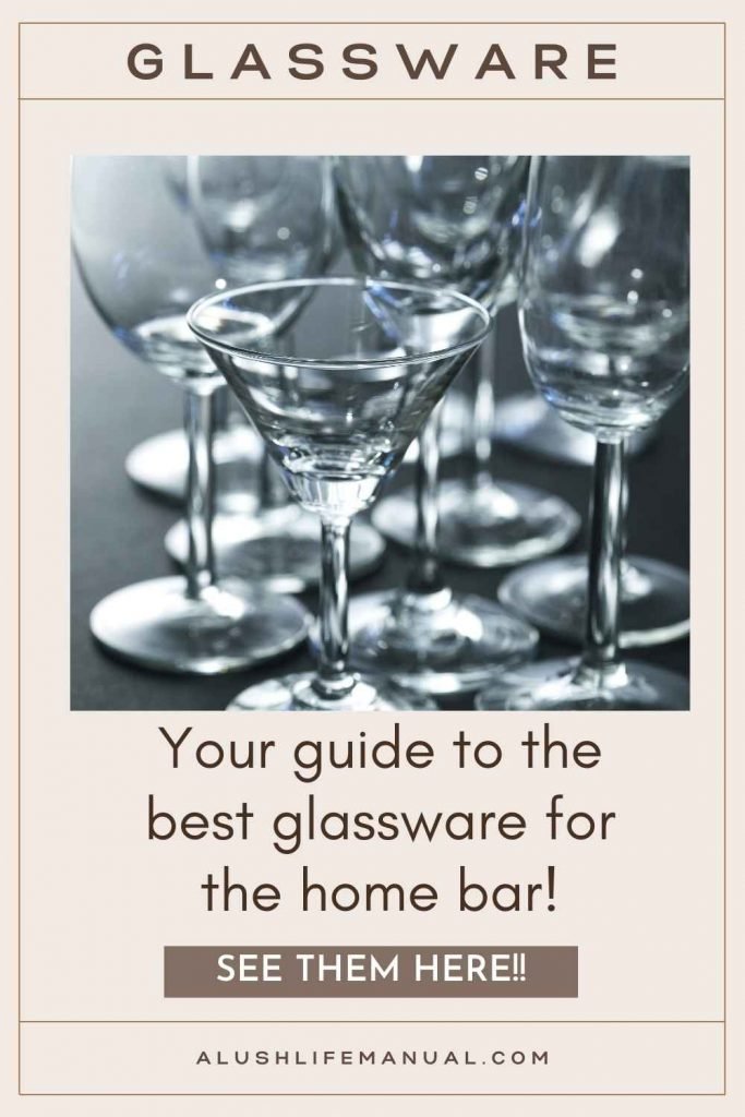 Glassware for the Bar Pin1