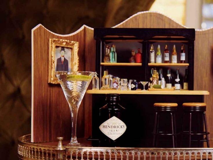 Hendrick's Gin Tini Martini