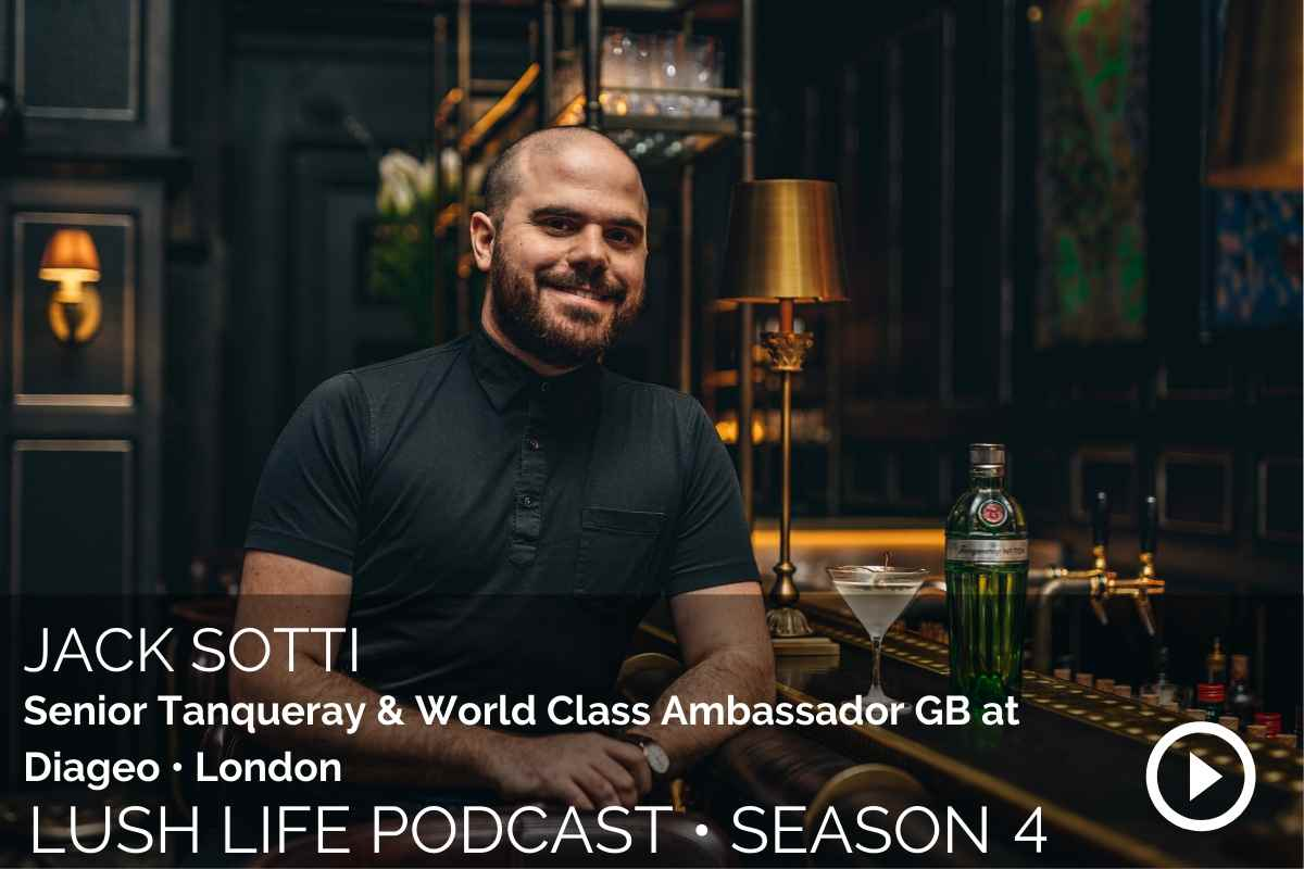 Jack Sotti, Senior Tanqueray & World Class Ambassador GB at Diageo, London