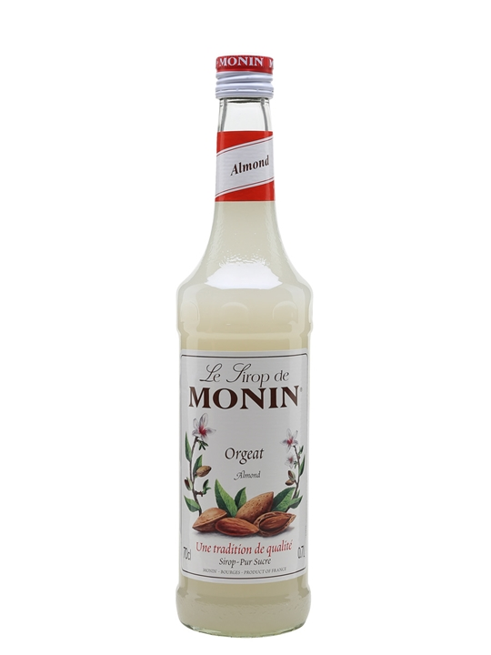 Monin Orgeat (Almond) Syrup : The Whisky Exchange