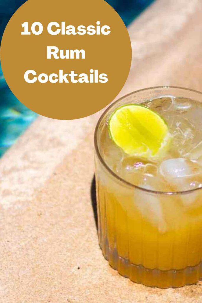 10 Classic Rum Cocktails Pinterest