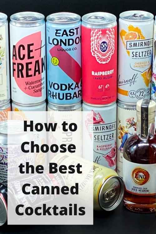 Canned Cocktails - Pinterest
